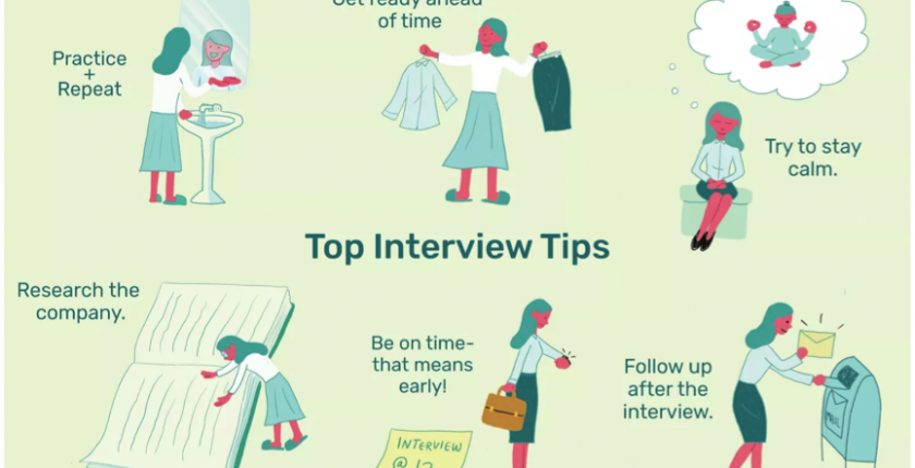 8 Interview preparation tips header - www.recruitment99.co.uk